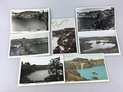 Vintage - Postcards - Mount Gambier South Australia - Lot Of 7 - Very Old