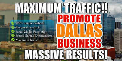 Market Your Dallas Business for Maximum Traffic Magazine You Provide Article