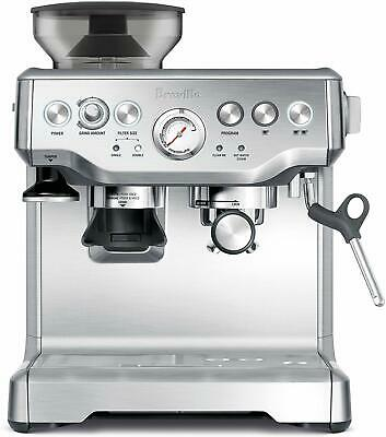 Breville the Barista Express Espresso Coffee Machine Stainless Steel BES870BSS