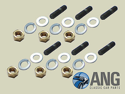 TRIUMPH STAG MkI & II EXHAUST DOWNPIPE TO MANIFOLD STUD & NUT KIT