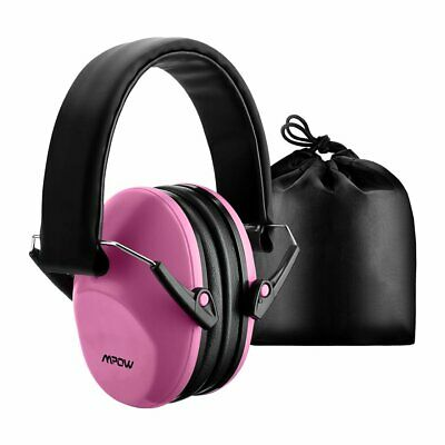 Mpow Kids Ear Defenders Ear Muff Noise Reduction Protectors Children Baby Pink