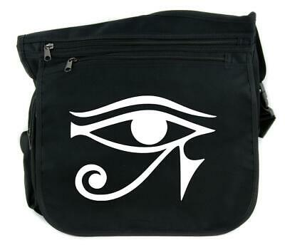 The Eye of Horus Ancient Egyptian Symbol Sling Messenger Bag Cross Body Handbag