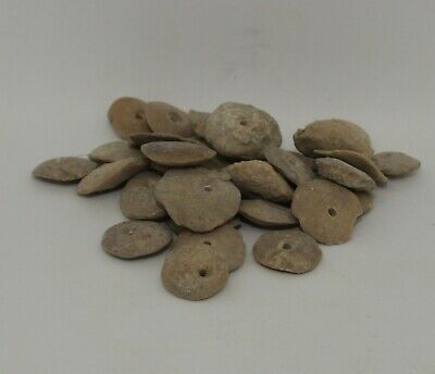 Large Ancient Carved Stone Beads - 031