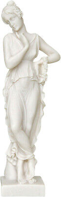 Kore of May / Persephone Goddess Queen of the underworld Alabaster statue 6,29'