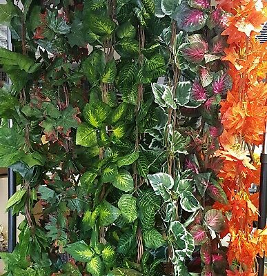 Artificial Trailing Garland Ivy Vine Leaf  Fern Greenery Plants Foliage Flower 5