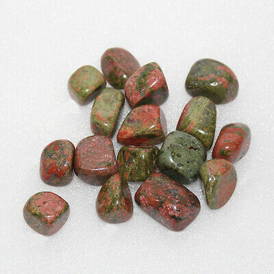 100 G Rhodonite Tumbled Stones Crystal Healing Chakra Reiki Gemstone Collectible