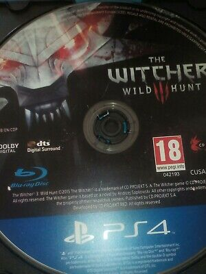 Juego THE WITCHER para PS4