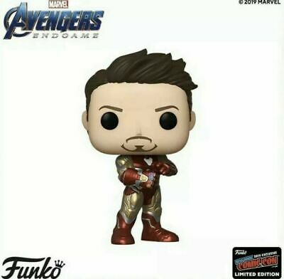 Avengers Endgame Iron Man with Gauntlet Pop! NYCC 2019 Shared Excl.