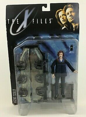 XFiles Agent Scully with Alien Pod Action Figure Series 1 Vintage 1998 McFarlane
