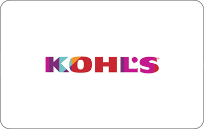 Kohl's Gift Card - $25 $50 or $100 - Email delivery