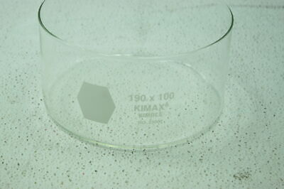 Crystallizing Dish 2600 ml 190 x 100 mm 23000 19100 EACH Kimble Chase 41121812