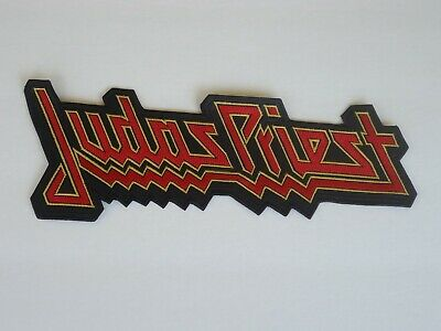 Judas Priest Logo Embroidered Back Patch