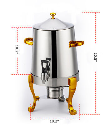 Techtongda brand new  Coffee insulation barrel (10L,stainless steel)
