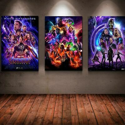 Fashion Avengers Endgame Movie Poster, Us Version All Sizes
