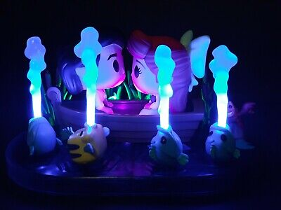 Custom Funko Pop - Light Up Kiss The Girl, Target Exclusive, The Little Mermaid
