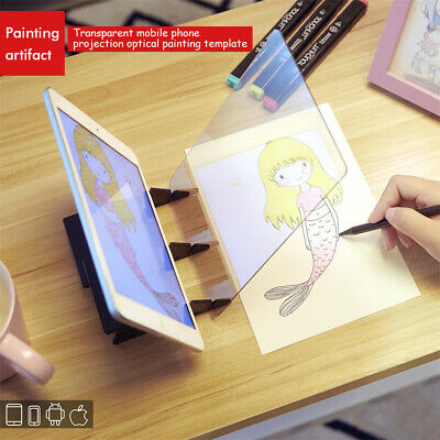 Optical Image Drawing Board  Tracking Sketch Drawing Mirror Painting Board Panel