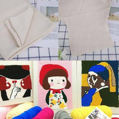 Monks Cloth Needlework Fabric for DIY Embroidery Sewing Punch Needle Accessory