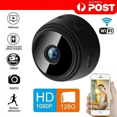 A9 Mini Camera Spy Wireless WiFi IP Hidden Network Monitor Security Cam HD 1080P