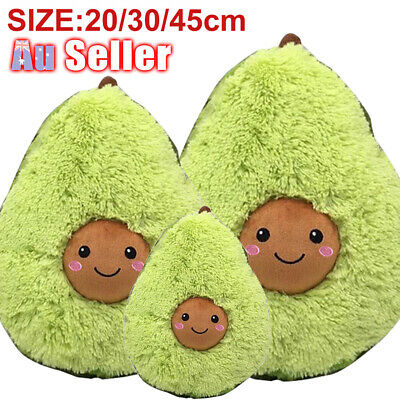 20-45cm Plush Toys Gift Pillow For Kids Cute Soft Avocado Stuffed Dolls Cushion