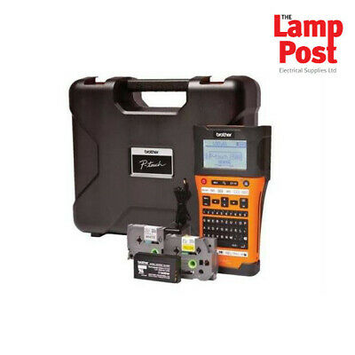 Brother PT-E550WVP - Handheld Industrial Electrician Label Printer Labelling