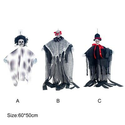 Gauze Skull Hanging Ghost Hanging Decor Halloween Ghost House Decoration Props