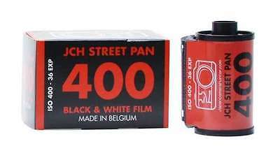 2 x JCH STREET PAN 400 ISO Black & White B&W 35mm 135-36 36exp Print Film - US