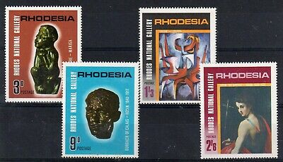 RHODESIA = 1967 Rhodes National Gallery. ART. set/4. MNH. SG414/7.