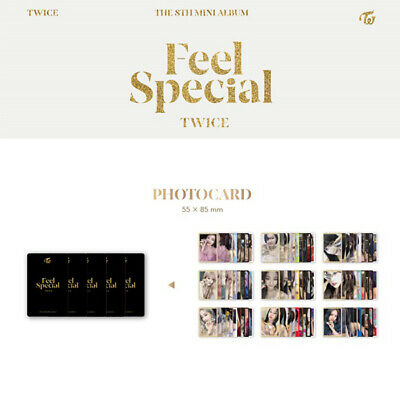 TWICE - 8th MINI ALBUM FEEL SPECIAL PHOTO CARD TZUYU MINA SANA MOMO NAYEON JIHYO