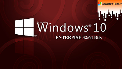 Windows 10 Enterprise 32/64 Bits-Multilenguaje-Soporte Técnico-24/7
