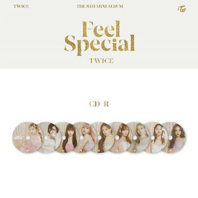 TWICE - 8th MINI ALBUM FEEL SPECIAL DISC TZUYU MINA SANA MOMO NAYEON JIHYO