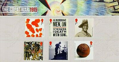 GB Stamps 2015 'The Great War' Presentation Pack #511