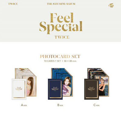 TWICE - 8th MINI ALBUM FEEL SPECIAL PRE-ORDER BENEFIT PHOTO CARD SET