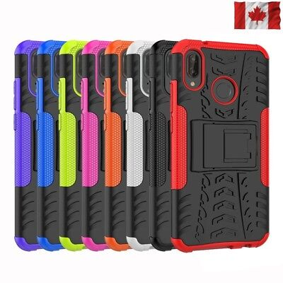 For Huawei P20 P20 Lite P20 Pro Heavy Duty Tough Kickstand Shockproof Case Cover