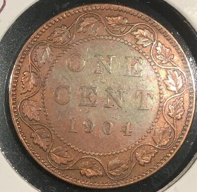 1904 Canada Large One Cent Red From A Huge 'Collection' *Keep Following Us*