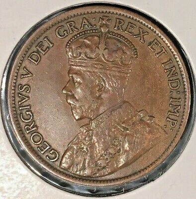 1914 Canada Large One Cent From A Huge 'Collection' *Keep Following Us*