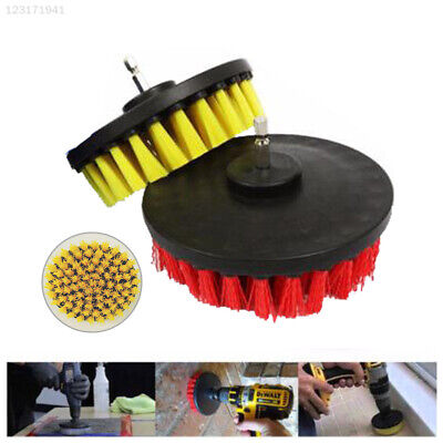 62BF 2 Colors Disc Brush Drill Hole Purifier Durable Cleaning Brush