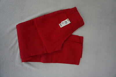 Lee Rider ´ S Youth Kansas Bambini Jeans Ragazzi 14 Y Pantaloni Gr.164 cm Rosso