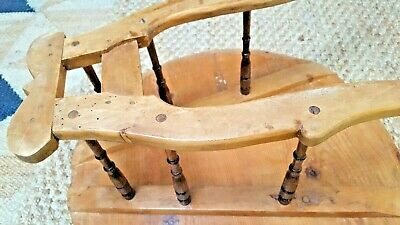 lovely antique Victorian solid wooden table- used for carrying cheeses