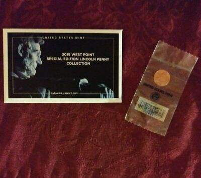2019-W UNCIRCULATED LINCOLN CENT from US Mint Uncirculated P&D Coin Set