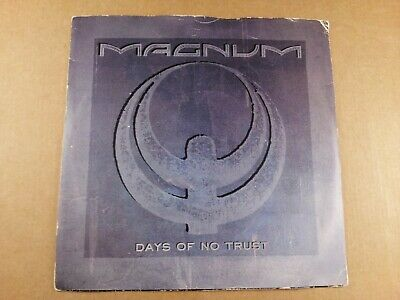 "Magnum : Days Of No Trust : Vintage 7"" Single from 1988"