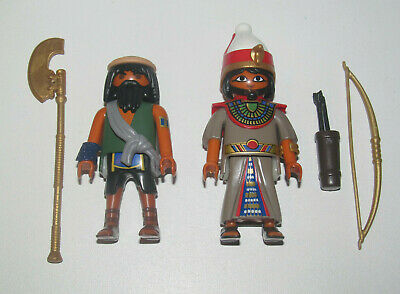 Playmobil Figurine Personnage Lot Garde & Chef Autochton + Accessoires New
