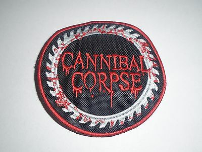 Cannibal Corpse Death Metal Embroidered Patch