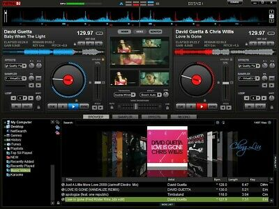 virtual dj pro 7.4.7 with License key,  ( mac version )