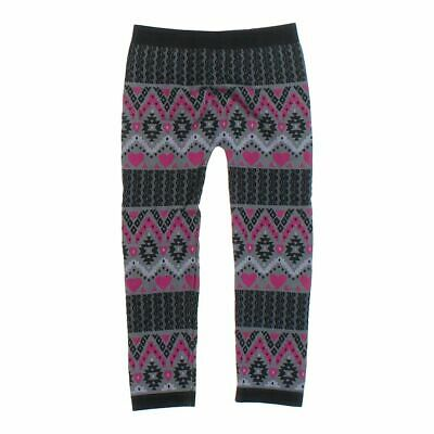 Faded Glory Baby Girls Leggings size One Size,  black, grey, pink