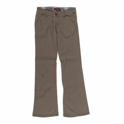 Unionbay Girls  Pants size JR 1,  brown,  cotton, spandex