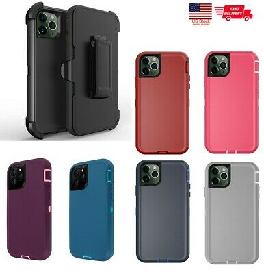 NEW Defender Cover Case for iPhone 11 11 Pro 11 Pro Max (Belt Clip fits Otterbox