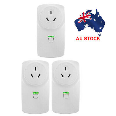 3 x 10A/16A Wifi Smart Power Socket Outlet Switch APP For ECHO ALEXA GOOGLE HOME
