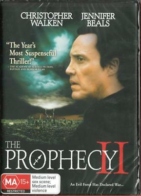 The Prophecy Ii - Christopher Walken - New Region 4 Dvd Free Local Post