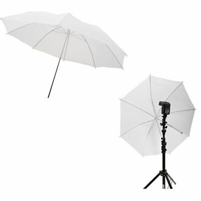 2pcs Photo Studio Umbrella Softbox 33in 83cm Flash Translucent White Photo Tools