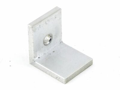 Aluminium 5mm Mounting Hole - Ø 6,5mm L-ANGLE Metal Holder Connector 35x30x35mm